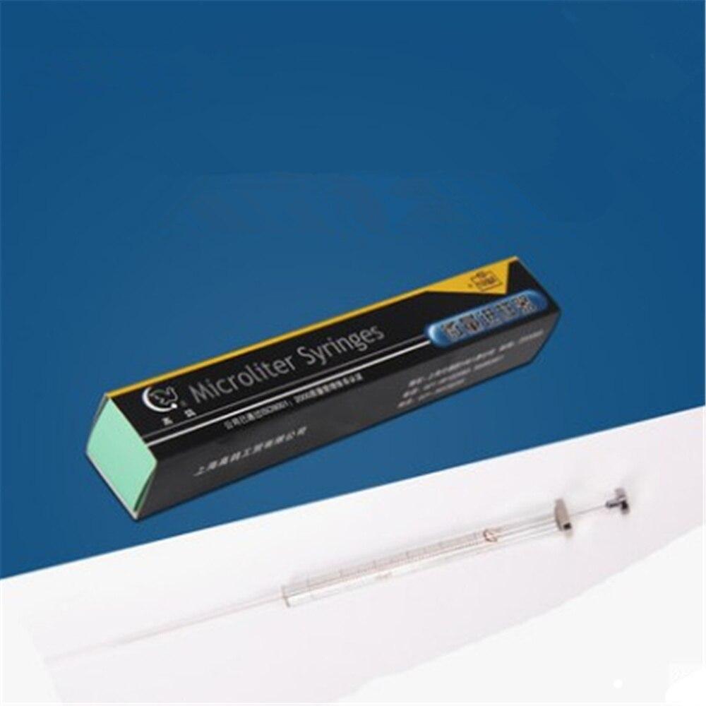 Haute qualité 500ul laboratoire Micro échantillonneur Phase gazeuse pointe pointue ordinaire Microliter seringues Pipette laboratoire fournitures médicales