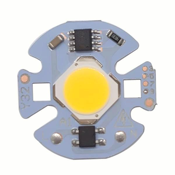 LED Lamp COB Chip 9W 7W 5W 3W Real Power 220V Input Smart IC DIY For Spotlight Floodlight Cold White Warm White