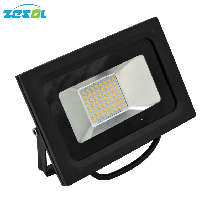 ZESOL 50W LED Flood light Outdoor focus lighting DC24V AC85-265V Floodlight IP65 Waterproof Garden plants