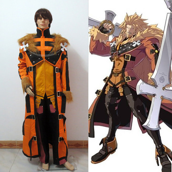 Guilty Gear LEO cosplay Costume Custom Made Free Shipping