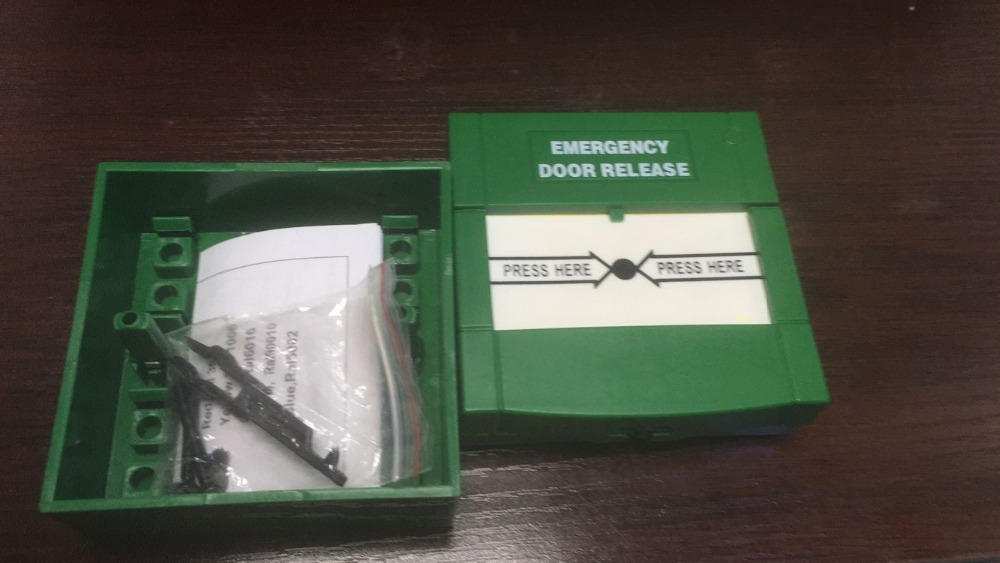 Good Quality Reset Emergency Break Glass Fire Alarm Emergency Switch Door Release