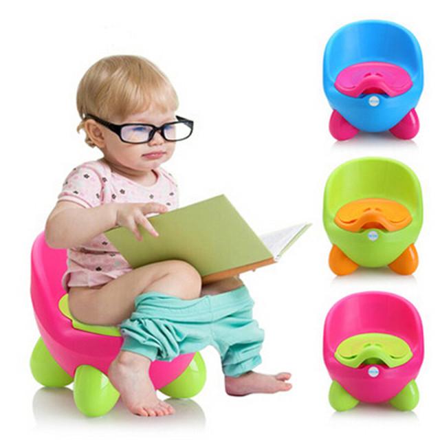 Calças de Treinamento Bacio bebé Assento Do Vaso Sanitário para Crianças de Plástico Não-deslizamento Crianças Assento Do Vaso Sanitário Dobrável Protable Viagem Penico Xixi Trainer