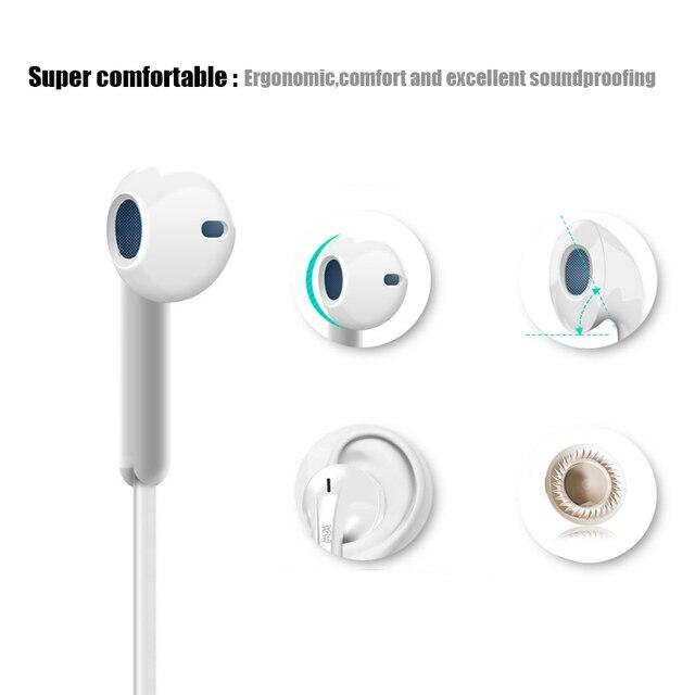 Headphones Earbuds Stereo Earphone Music Headset  Original Earphone For iPhone 5 5S 5C 6 6plus Sony Htc Apple