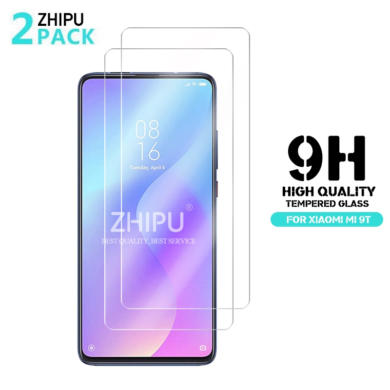 "2 Pcs Tempered Glass For Xiaomi Mi 9T Screen Protector 2.5D 9H Tempered Glass For Xiaomi Mi 9T Pro Mi9T Protective Film 6.39""-in Phone Screen Protectors from Cellphones & Telecommunications"
