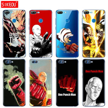 Silicone Cover phone Case for Huawei Honor 10 V10 3c 4C 5c 5x 4A 6A 6C pro 6X 7X 6 7 8 9 LITE anime One Punch Man