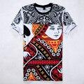 3D T-shirt Dos Homens de Impressão 2017 Verão Streetwear Hip Hop T Shirt Homens