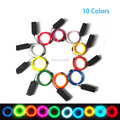 Hot Sales 2.3mm 10 Color Choice For Party Decorative Led Strip Thread EL wire Flexible Neon Light + DIY Christmas glowing gift