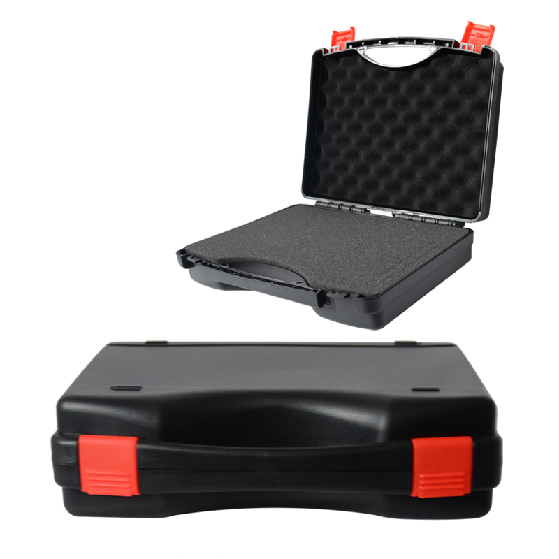 280x230x80mm Toolbox Instrument Box Plastic Tool Box Impact Resistant Safety Case Equipment Camera Case With Pre-cut Foam