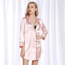 Nightwear For Women Ladies Sexy Silk Satin Night Dress short Sleeve Nighties V-neck Nightgown Free Size Nightdress Lace Sleepwea недорого