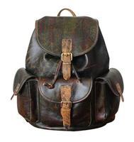 2018 New unisex backpacks Genuine Leather packsack vintage the knapsack travel backpack bag preppy backpacks