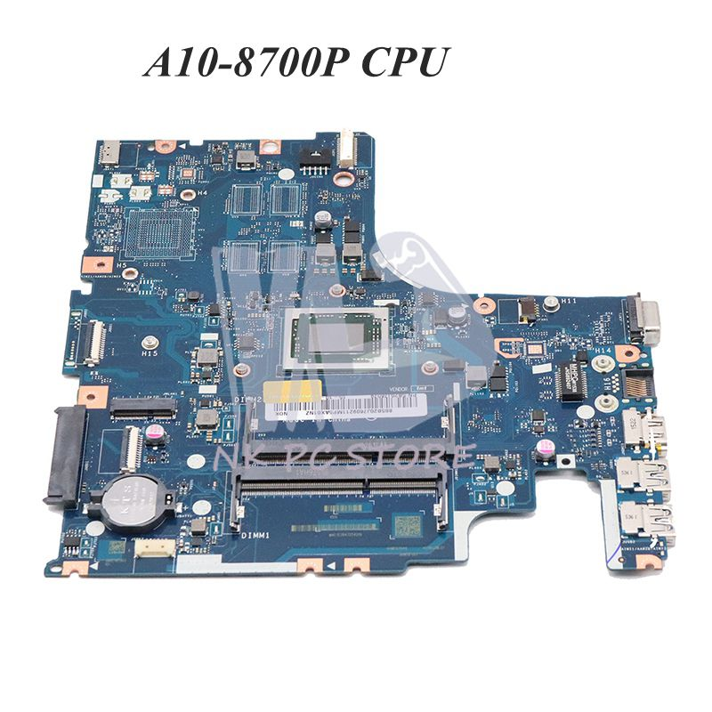 NOKOTION 5B20J76079 For Lenovo IdeaPad 500-15ACZ Series Laptop Motherboard AAWZA ZB LA-C285P Mainboard A10-8700P CPU