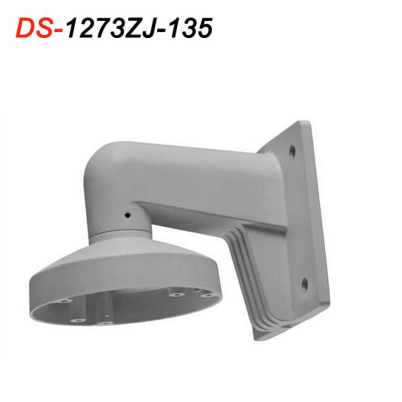 DS-1273ZJ-135 New Wall Mount Original Bracket Outdoor For DS-2CD2732F-IS DS-2CD2732F-I IP Camera ds 1273zj 135 aluminum alloy bracket wall mount bracket for ip dome camera ds 2cd2732f is