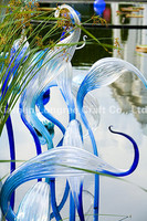 Chihuly Summer Art Glass Sculptures Outdoor Garden Decor Handmade Blown Murano Glass Plants Sculpture