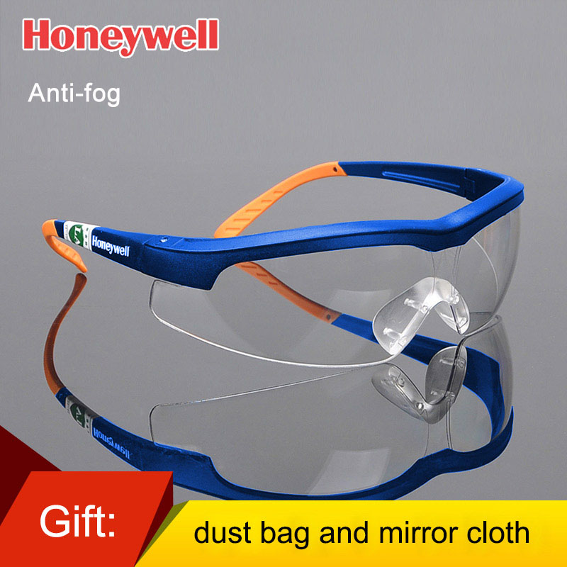 Honeywell Safety Goggles Sand-proof Shock-proof Eye Protection Glasses Riding Labor Dustproof Windproof Security Eyewear