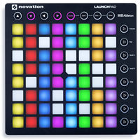 Novation Launchpad RGB DJ hit pad Resolume VJ midi controlle