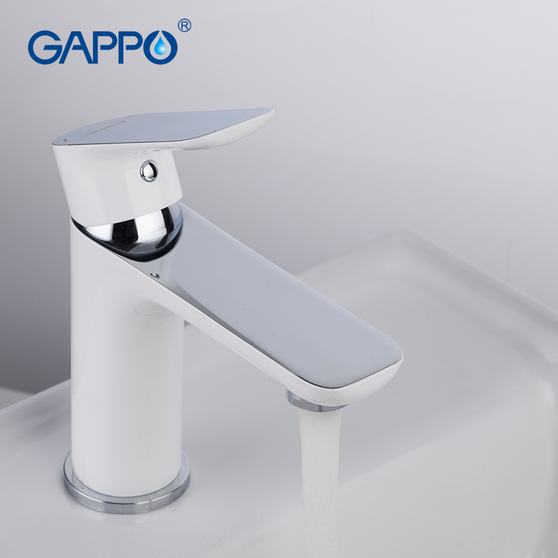 GAPPO Bathroom Basin Faucet Sink Tap Brass Single Handle Water Faucet Bath Faucet Tap Waterfall Basin Mixer Water Saving Faucet
