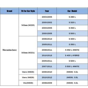 Image 5 - Yağ filtresi için Fit mercedes benz S sınıfı (W220)(W221) yıl 2003 2011 Viano Vito (W639) 3.2L 3.5L 2006 2012 Model araba yağ filtresi