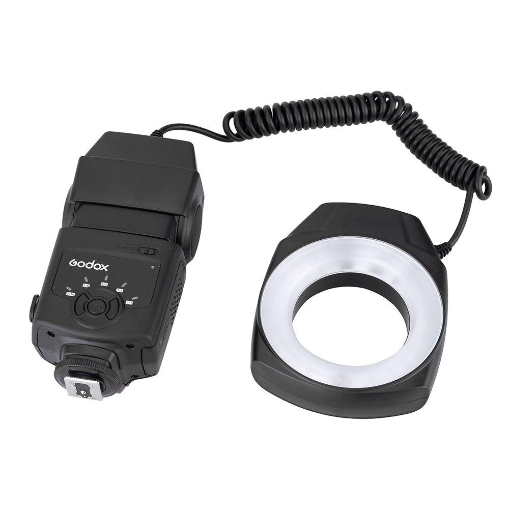 Godox ML 150 Bague Macro Flash Speedlite avec 6 Bagues D adaptation Pour  Objectif pour Canon Nikon Pentax Olympus reflex numériques dans Macro    Anneau ... 688f6d3d13a2