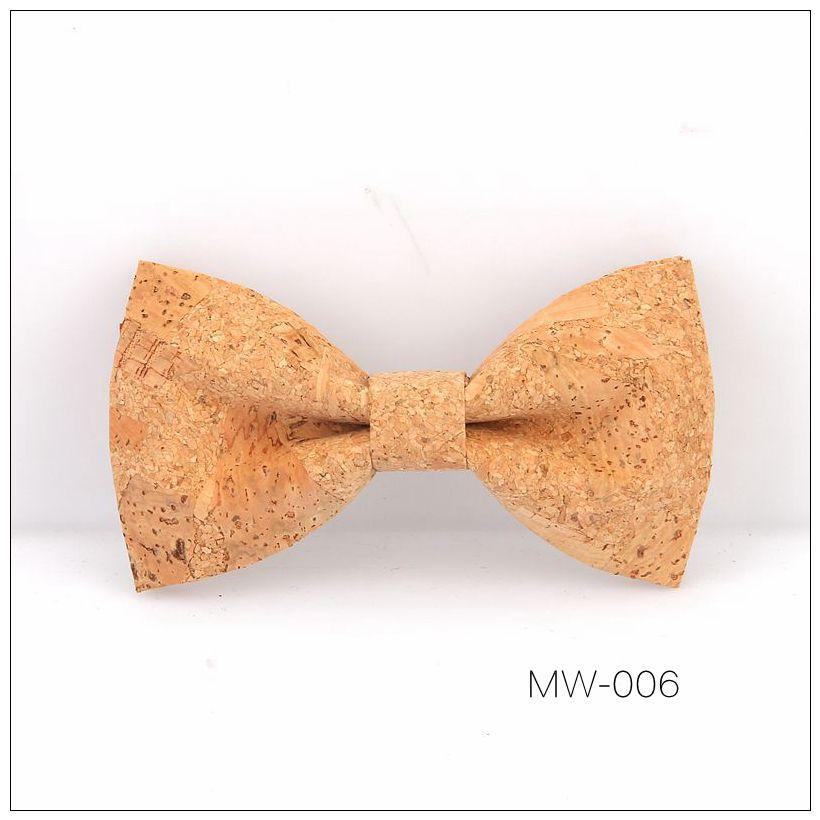 New Handmade Wooden Cork Bamboo Bow Tie Bowtie Men's Cravat 49