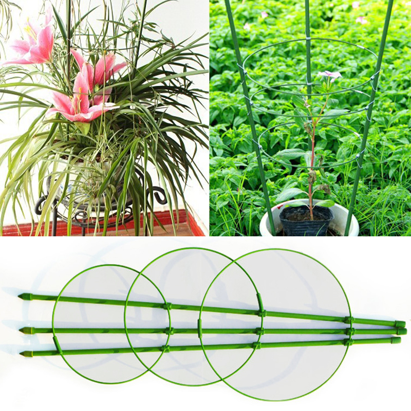 Construction Tools 60cm Flower Plants Clematis Climbing Rack Support Shelf House Plant Growth Scaffold Ladder Building Garden Tool Tools
