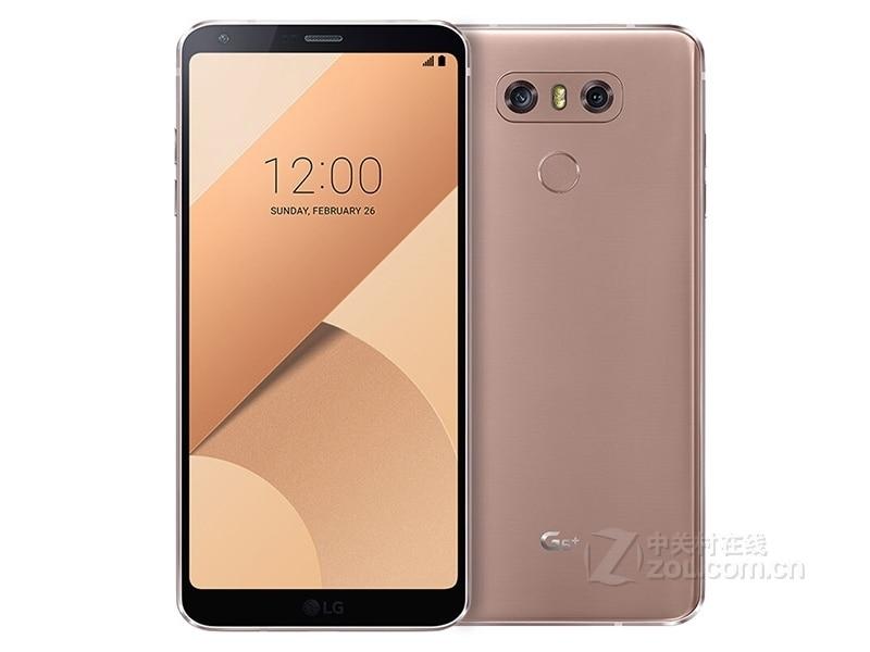 Разблокированный LG G6 4G Оперативная память 32G/64 Встроенная память 13MP 5,7 ''4 аппарат не привязан к оператору сотовой связи мобильного телефона с одной Sim-картой H870 H871 H872 H873 VS988 Dual sim H870DS - Цвет: Rose gold