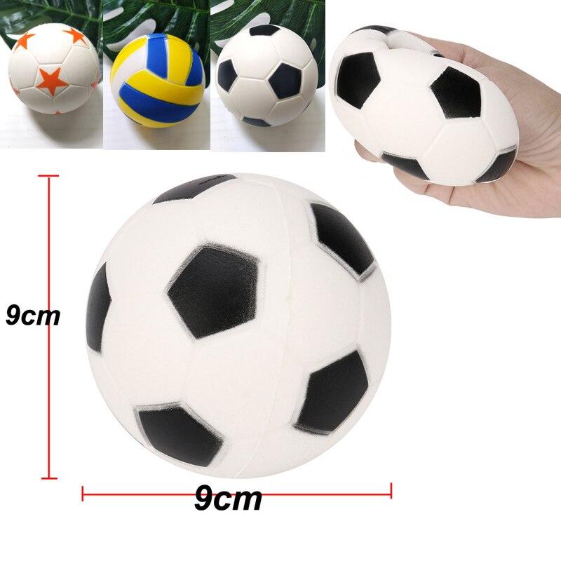 9cm uriașă minge de fotbal Squishy volei Slow Rising Cream parfumat - Produse noi și jucării umoristice