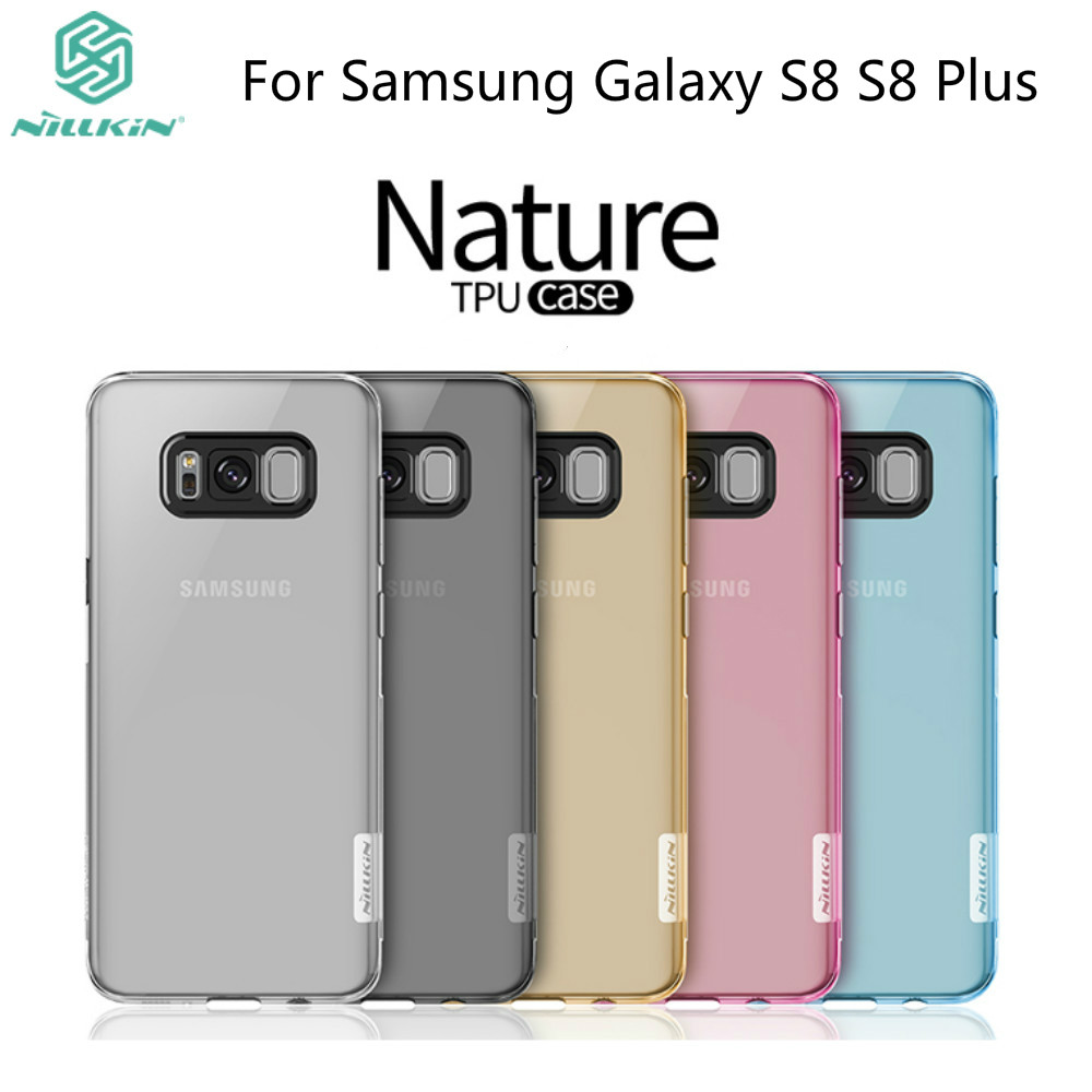 For Samsung Galaxy S8 Case NILLKIN Nature Transparent ...