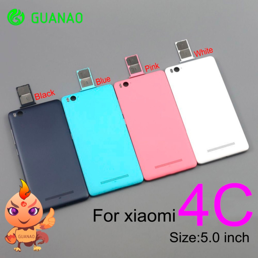 For Xiaomi M4c Mi 4c  Battery Phone Case Protective Battery Back Cover Fit Housing Replacement Parts For Xiaomi Mi4c