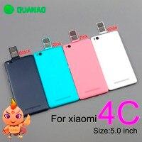 Para Xiaomi M4c mi 4c batería teléfono funda protectora de la batería cubierta trasera ajuste carcasa piezas de repuesto para Xiaomi mi 4c Marcos y carcasas para teléfonos móviles     -