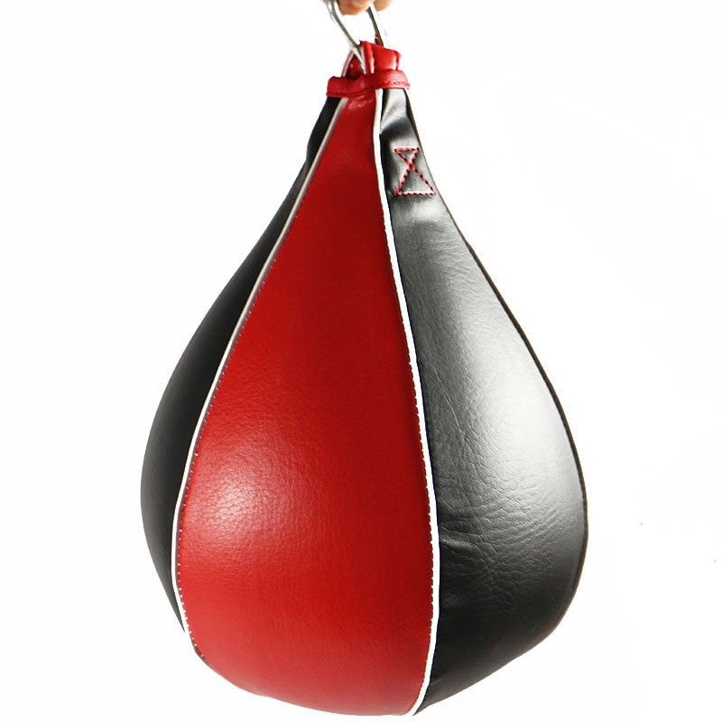 Speed Ball Pear Shape Single ended Boxing Punch Bag Gym Training Martial Arts