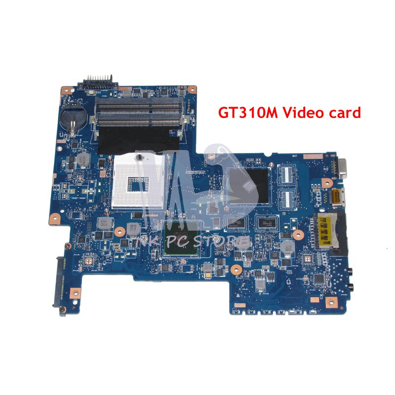 NOKOTION For Toshiba Satellite C670 Laptop Motherboard H000031380 MAIN BOARD HM55 DDR3 GT310M Video card nokotion a000175380 laptop motherboard for toshiba satellite c840 l840 main board ati hd7670m graphics ddr3 daby3cmb8e0