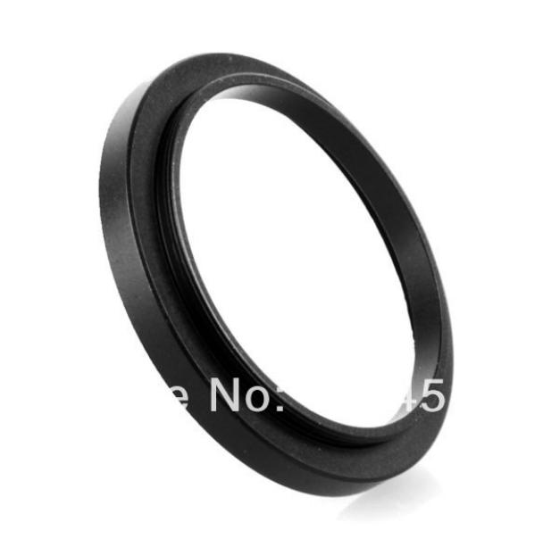NEW 52mm-55mm BLACK Aluminum metal selling 52-55mm 52 to 55 52mm to 55mm Step Up Ring Filter Adapter HOT Wholesale!