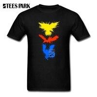 Shirt And T shirt Legendary Bird Splatter Mens Round Collar Short Sleeve T shirt Wholesale Homme White Mens Shirt