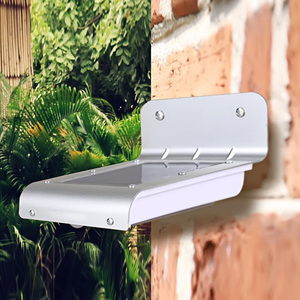 Image 5 - مصباح LED بالطاقة الشمسيّة الاستشعار مصباح الصوت/الحركة كشف حديقة الأمن إضاءة خارجية مضادة للماء الأبيض حديقة ضوء الشمس IP66