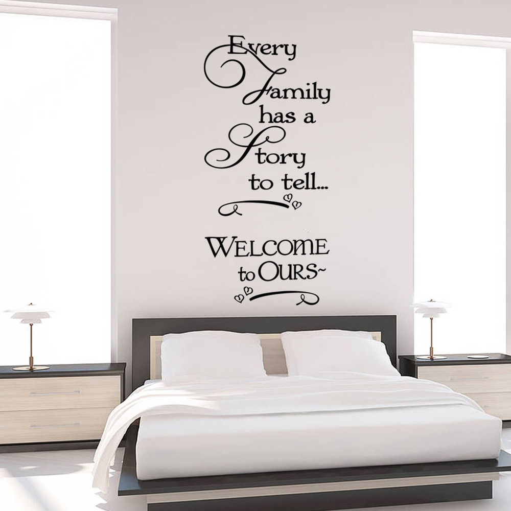 Loving Family Bedroom Furniture Popular Wall Stickers Family Is Every Buy Cheap Wall Stickers
