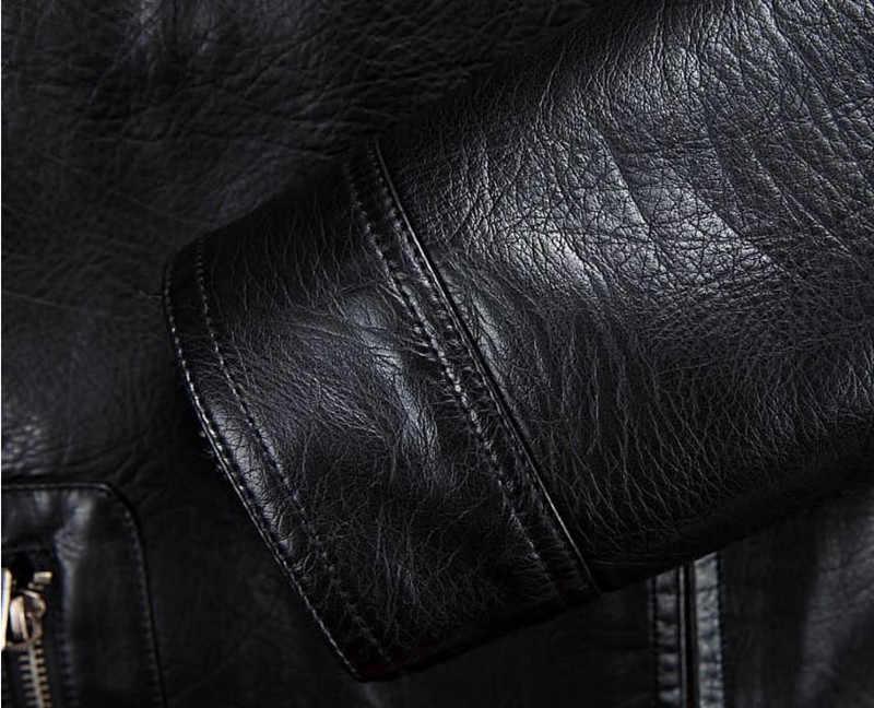 Зимние высококачественные мужские кожаные куртки плюс бархатное теплое пальто мужская куртка повседневная ветрозащитная искусственная кожа с отстегивающимся капюшоном