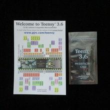 K66 Teensy 3.6 Kinetis MCU 32 บิต ARM Cortex M4 ฝัง Evaluation Board ไม่มีหัว Teensy3.6 พร้อม MCU MK66FX1M0VMD18