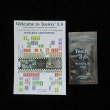 K66 Teensy 3.6 Kinetis MCU 32 Bit ARM Cortex M4 Gömülü Değerlendirme Kurulu başlıkları olmadan Teensy3.6 MCU MK66FX1M0VMD18