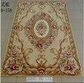 Вязаный шерстяной коврик ручной работы большой размер ковры Европейский цветочный журнальный столик для гостиной ковер для спальни настен...