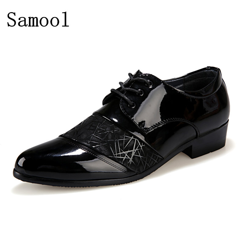 2017 Spring Autumn Fashion Business Soft bottom men oxfords Shoes Men Casual Formal Carved High Quality Leather Brogue shoes