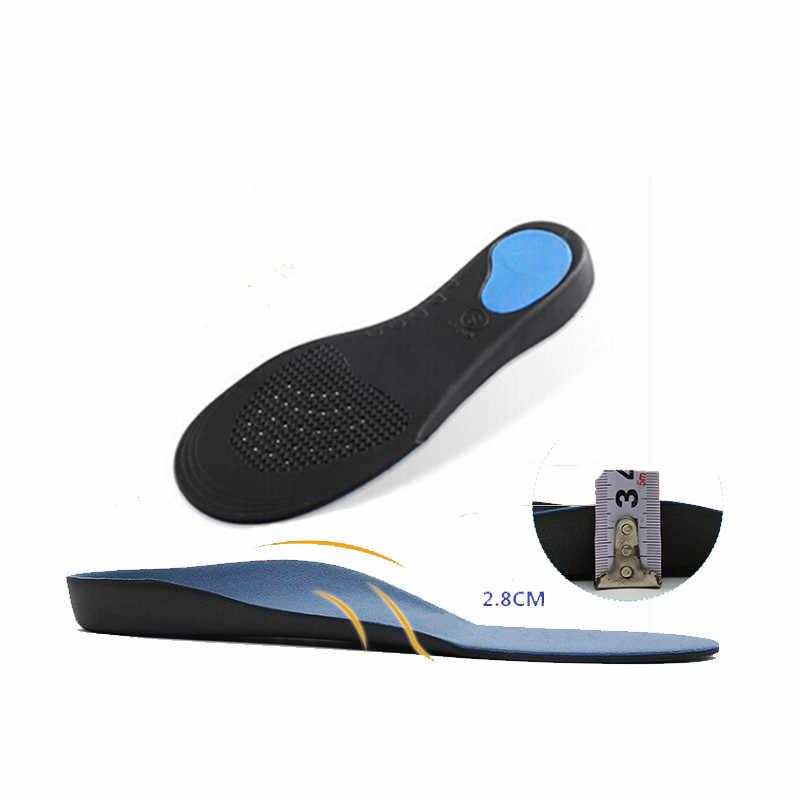 Platte Voeten Arch Ondersteuning Inlegzolen Orthopedische Hoogte 3Cm Hoge Kwaliteit 3D Premium Comfortabele Pluche Doek Orthopedische Inlegzolen Voet Pad