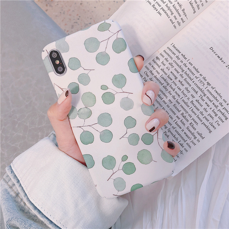 Luxury Cute Pattern Frosted Hard Back Protective Case For HuaWei P20 Pro P20 lite Case For Huawei P30 lite P30 pro Phone Cover in Fitted Cases from Cellphones Telecommunications