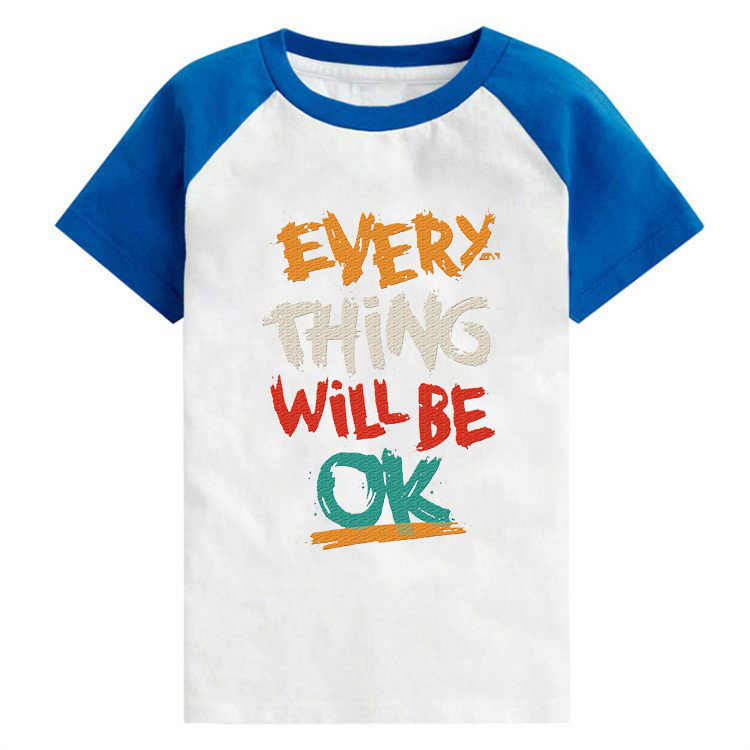 3-13Y summer tops children clothes t-shirts boys & girls short sleeve Vetements pour enfants tshirt full size kids top tees