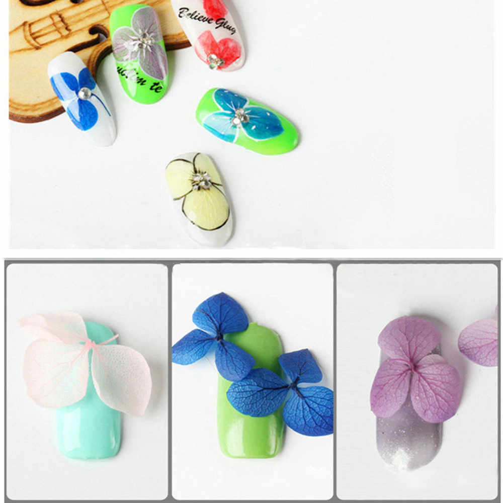 1 простыни детские новый дизайн Смешанные сухоцветы 3D Шарм Маникюр наклейки для ногтей свет цветы трафареты дизайн ногтей украшения