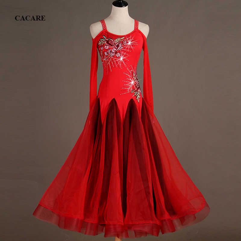 По индивидуальному заказу, платья для участия в конкурсах бального танца, стандартные танцевальные платья бальное платье, для вальса платье D0568 Роскошные Аппликации со стразами