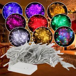 ECLH 10 м 5 100Led 40Led Строка Гирлянда на Рождественское дерево Фея Света Luce водостойкий дома вечерние Y украшения для праздника на открытом