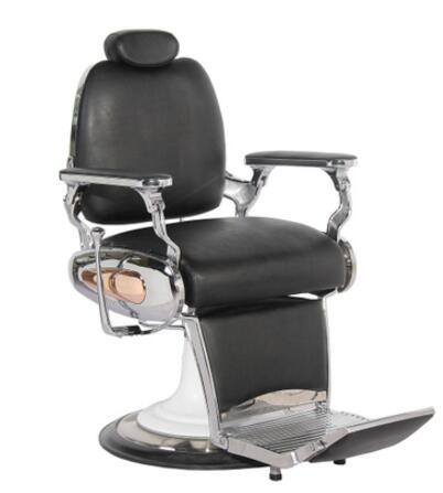 New Vintage Pull Pull Hair Chair Luxurious Cut Hair Chair High-end Hair Chair European Style Hair Chair.