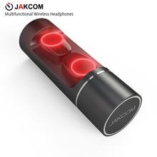 JAKCOM TWS Mutifunctional Smart Wireless Headphones Sport Handsfree Earphone Cordless Earbuds with Charging Box For Bluetooth