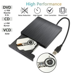 Image 3 - DVD ROM Optical Drive cases USB 3.0 CD/DVD ROM CD RW Player Portable CD24X DVD8X Reader Recorder for Laptop computer