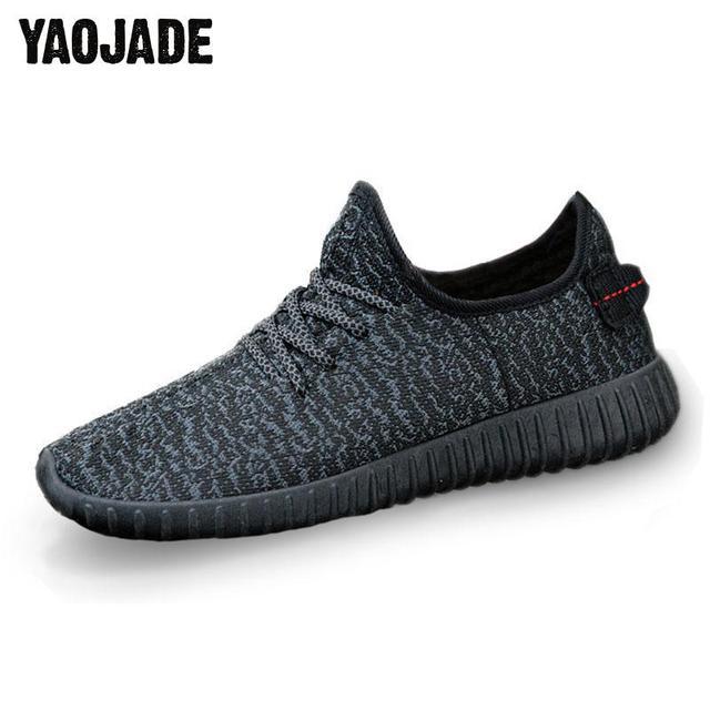 Nuevos Zapatos Casuales Transpirables Para Hombre Zapatos Tejidos
